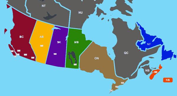 kanada-harita